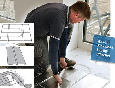 Få hurtigreagerende gulvvarme med Sundolitt gulvvarme til til svømmende gulve som trægulv, laminatgulv, gulvgips- og gulvspånplader