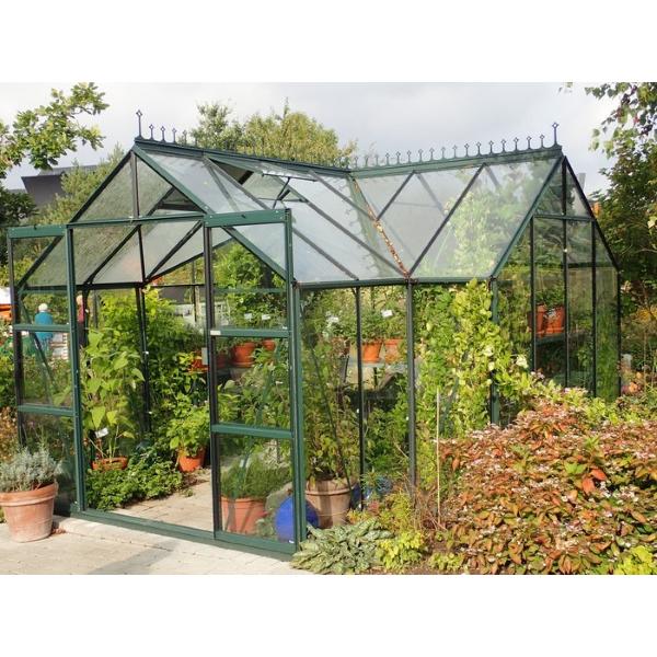 Seneste Vitavia drivhus Sirius 13000 grøn - Orangeri - Bygma WP84