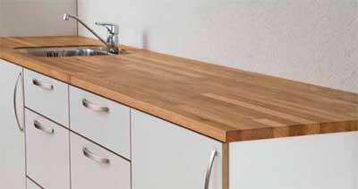 Wallmann bordplader køkkenbordplader i eg, ask, fyr, bøg og laminatbordplader