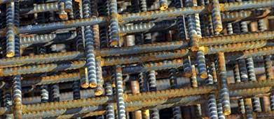 rionet armeringsnet til forstærkning af betonkonstruktioner fx betongulve eller til havehegn og espalier